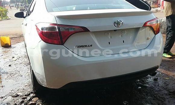 Acheter Occasion Voiture Toyota Corolla Blanc à Kaloum, Conakry