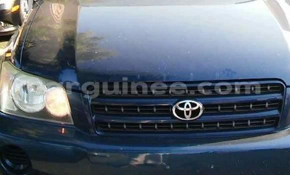 Acheter Occasion Voiture Toyota Highlander Bleu à Kaloum au Conakry