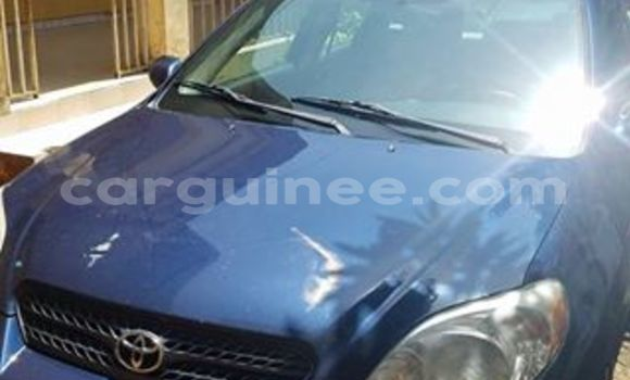 Acheter Occasion Voiture Toyota Matrix Bleu à Kaloum au Conakry