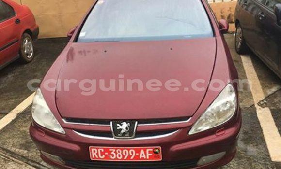 Acheter Occasion Voiture Peugeot 607 Rouge à Kaloum au Conakry