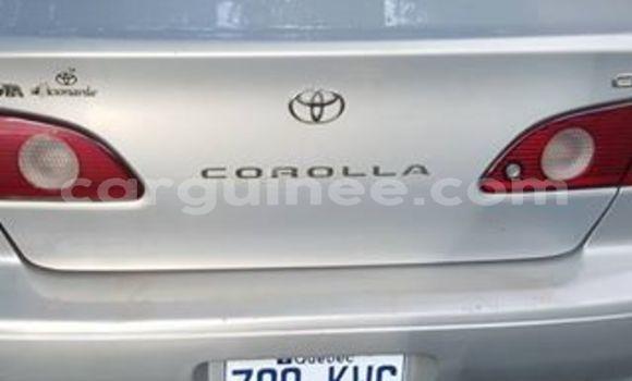 Acheter Occasions Voiture Toyota Corolla Gris à Kaloum au Conakry