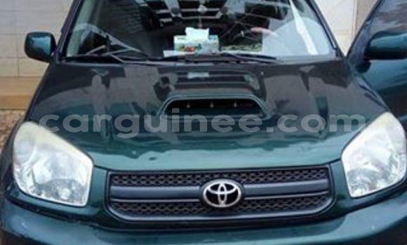 Acheter Occasion Voiture Toyota RAV4 Vert à Kaloum au Conakry
