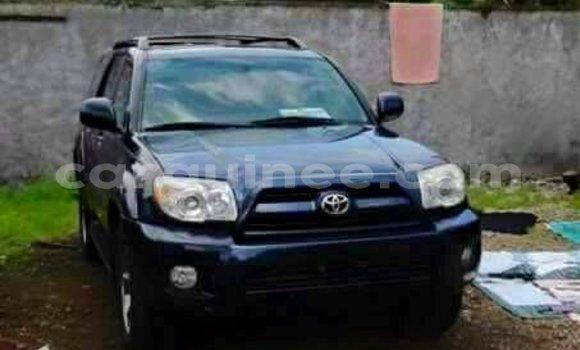 Acheter Occasion Voiture Toyota 4Runner Bleu à Kaloum au Conakry