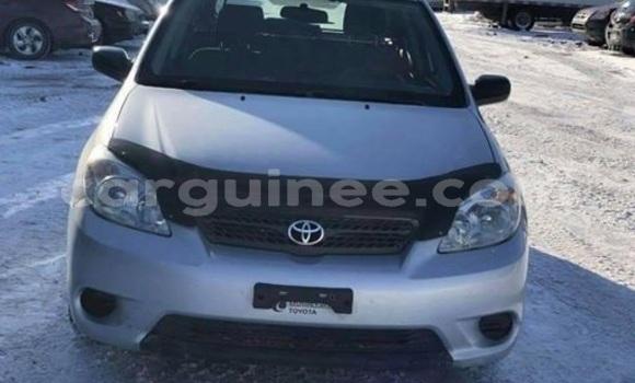 Acheter Occasion Voiture Toyota Matrix Gris à Kaloum au Conakry