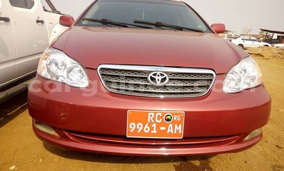 Acheter Occasion Voiture Toyota Corolla Rouge à Kankan au Kankan
