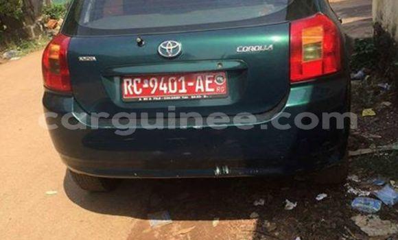 Acheter Occasion Voiture Toyota Corolla Vert à Kankan au Kankan