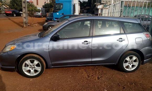 Acheter Occasion Voiture Toyota Matrix Gris à Matoto au Conakry