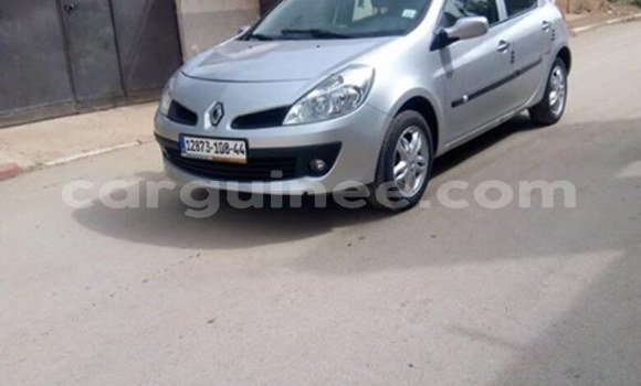 Acheter Occasion Voiture Renault Clio Gris à Conakry, Conakry