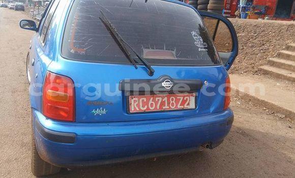 Acheter Occasion Voiture Nissan Micra Bleu à Boké au Boké