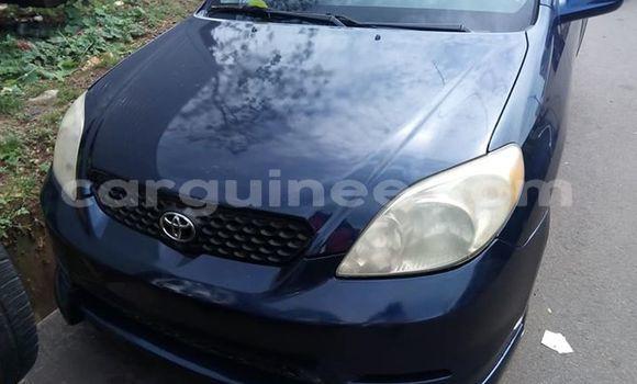 Acheter Occasion Voiture Toyota Matrix Bleu à Conakry, Conakry