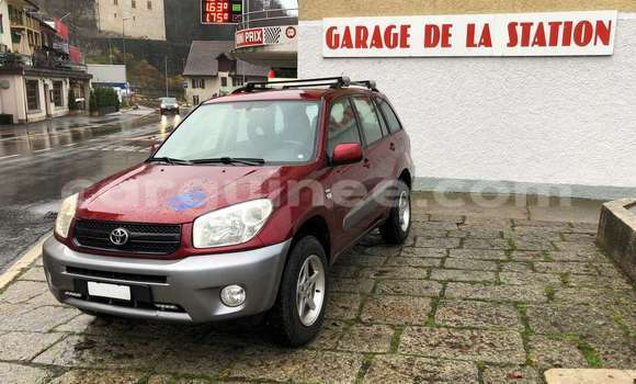 Buy Imported Toyota RAV 4 Red Car in Conakry in Conakry