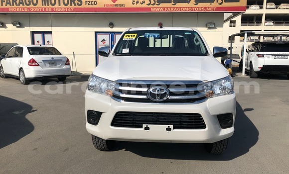 Buy Imported Toyota Hilux White Car in Conakry in Conakry