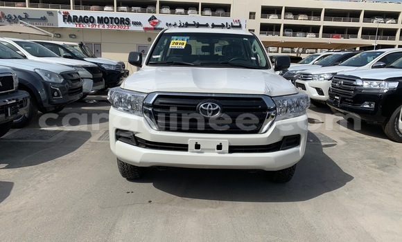 Buy Imported Toyota Land Cruiser White Car in Conakry in Conakry