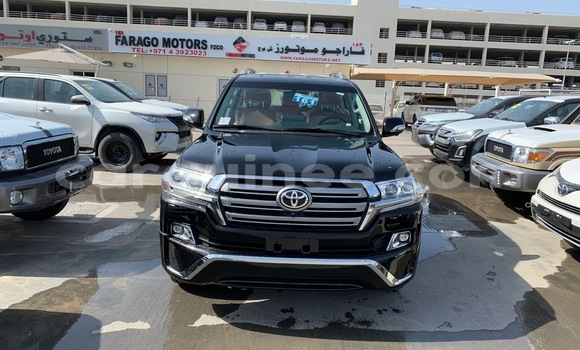 Buy Imported Toyota Land Cruiser Black Car in Conakry in Conakry