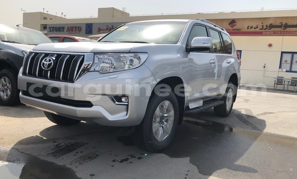 Buy Imported Toyota Land Cruiser Prado Silver Car in Conakry in Conakry