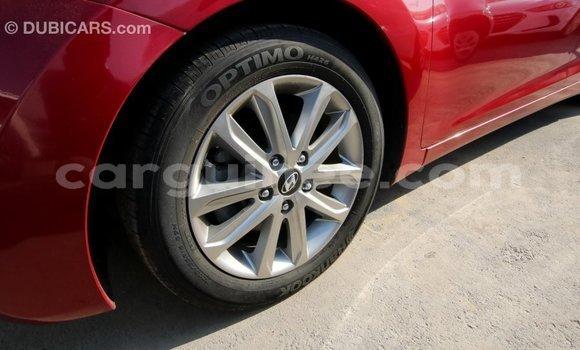 Acheter Importé Voiture Hyundai Elantra Rouge à Import - Dubai, Conakry